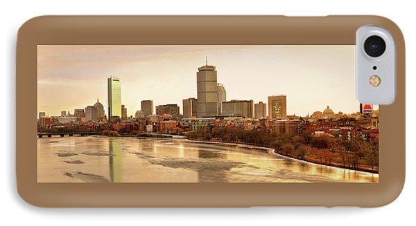 Boston Skyline On A December Morning IPhone Case