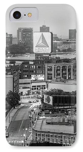Boston Skyline Photo With The Citgo Sign IPhone Case