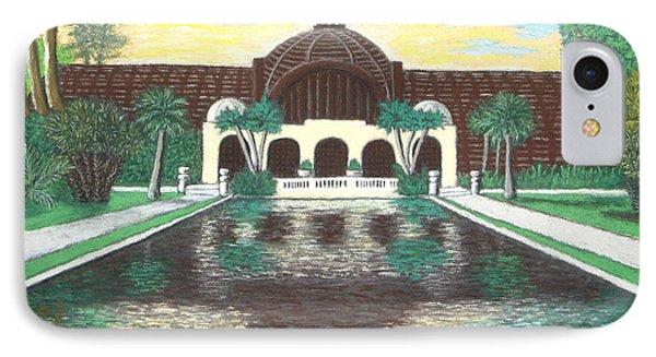 Botanical Building In Balboa Park 01 IPhone Case