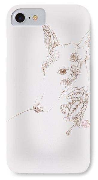 Botanicalia Greyhound IPhone Case