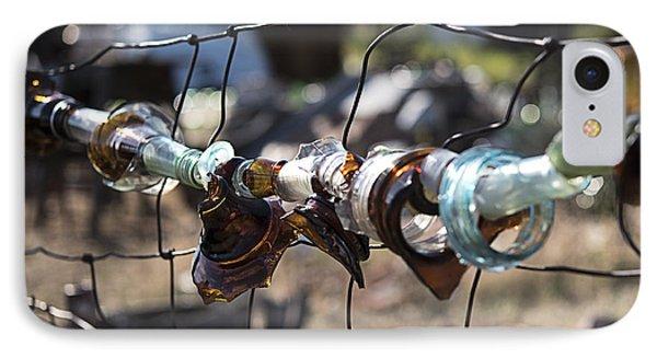 Bottle Fence IPhone Case