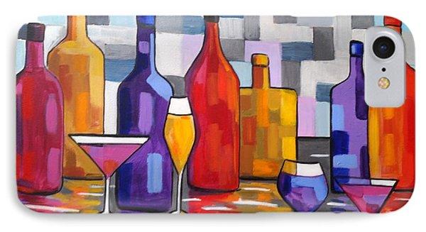 Bottle Of Wine IPhone Case