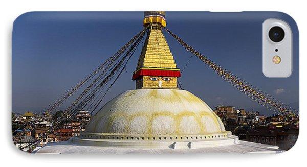 Boudhanath Stupa IPhone Case