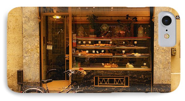 Boulangerie And Bike IPhone Case