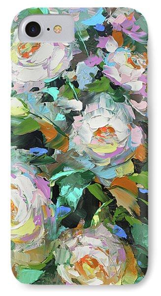 Bouquet Of Peonies  IPhone Case