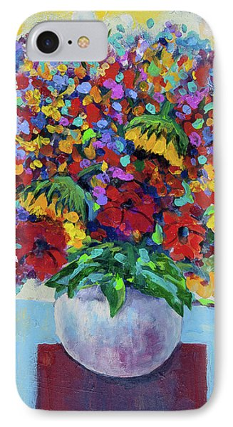 Bouquet With Two Sunflowers IPhone Case