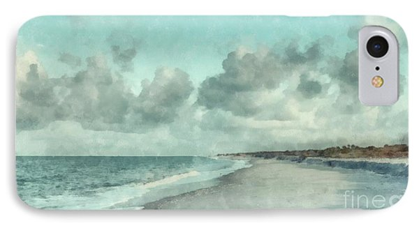 Bowman Beach Sanibel Island Florida IPhone Case
