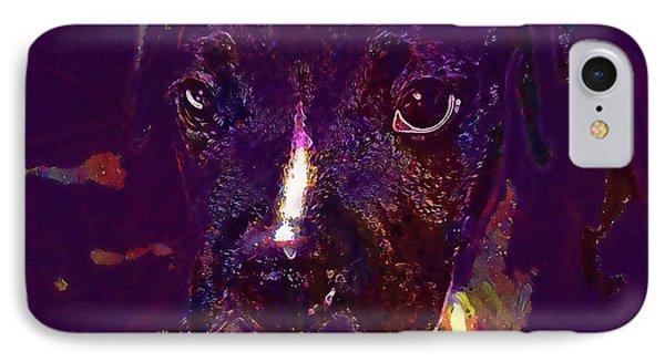 Boxer Puppy Dog Cute Young Head  IPhone Case