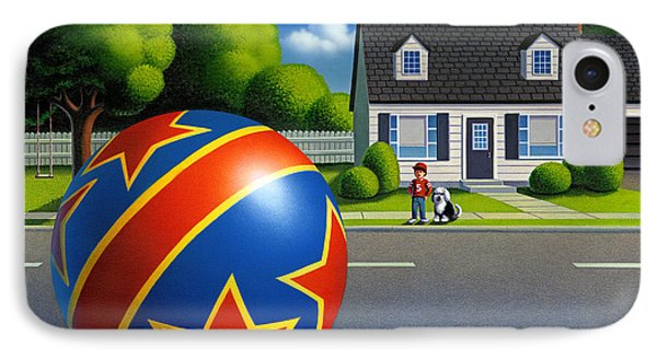 Boy And The Ball  IPhone Case