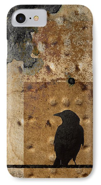 Braille Crow IPhone Case