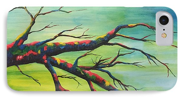 Branching Out In Color IPhone Case