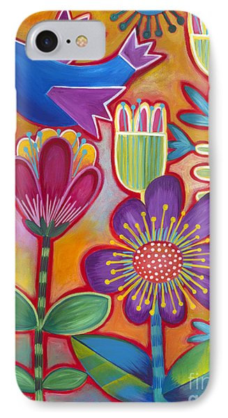 IPhone Case featuring the painting Brand New Day by Carla Bank