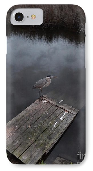 Brave Heron IPhone Case