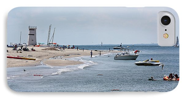 Breezy Point Lighthouse IPhone Case