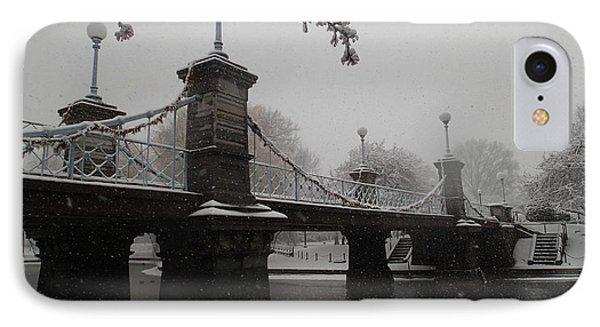 Bridge In Suspension 1867 IPhone Case