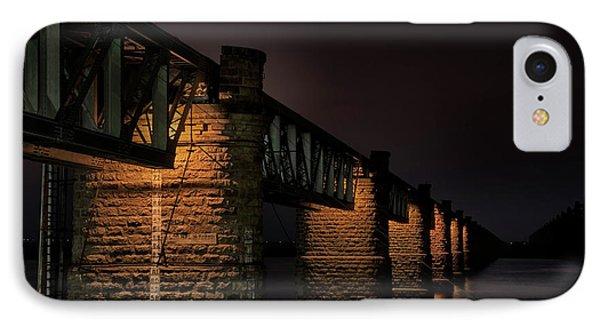 Bridge On Holy River Godavari IPhone Case