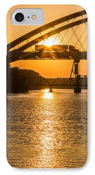 Bridge Sunrise 2 IPhone Case