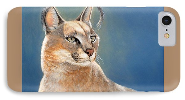 Bright Eyes - Caracal IPhone Case