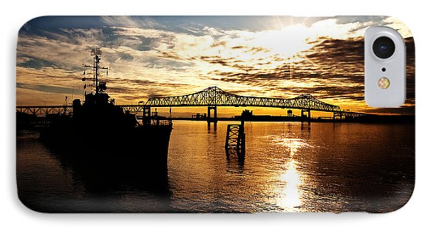 Bright Time On The River IPhone Case