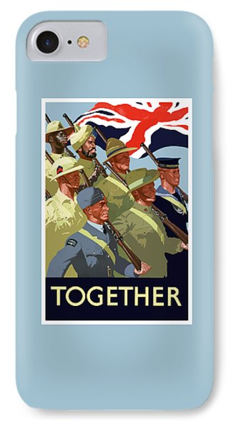 British Empire Soldiers Together IPhone Case