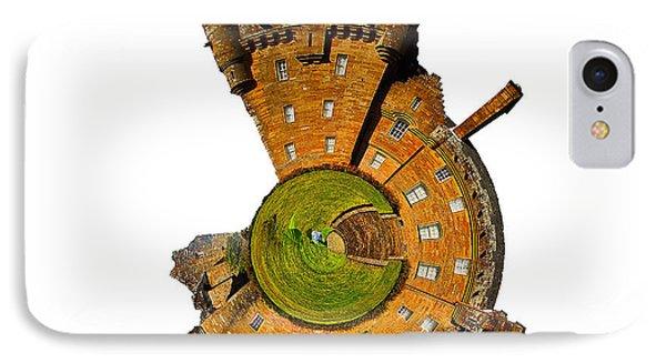 Castle iPhone 8 Case - Brodick Castle by Smart Aviation