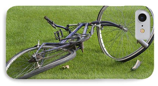 Broken Bicycle IPhone Case