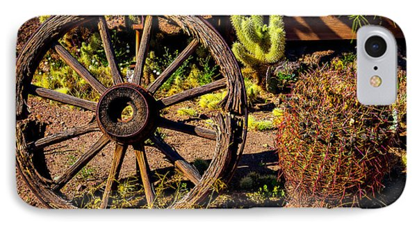 Broken Wagonwheel IPhone Case