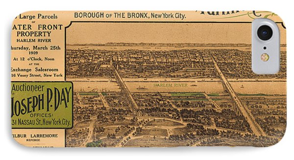 1909 Bronx New York Realtor Flyer IPhone Case