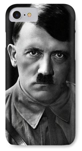 Brooding Portrait Of Adolf Hitler Heinrich Hoffman Photo Circa 1935 IPhone Case