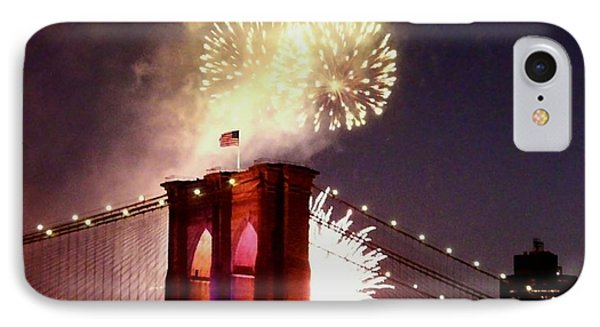 Brooklyn Bridge Celebration IPhone Case