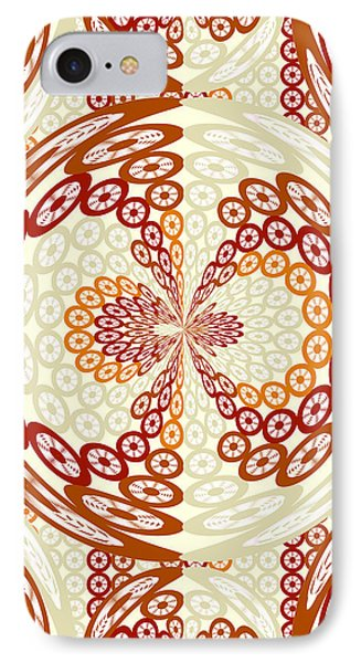 Brown And Tan Pattern IPhone Case