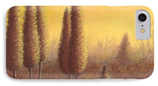 Brown Trees 01 IPhone Case