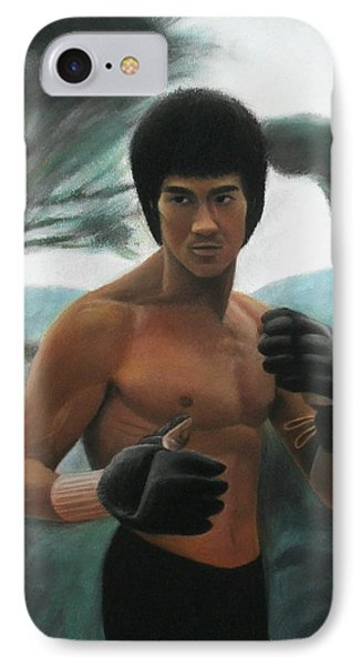 Bruce Lee - The Concentration  IPhone Case