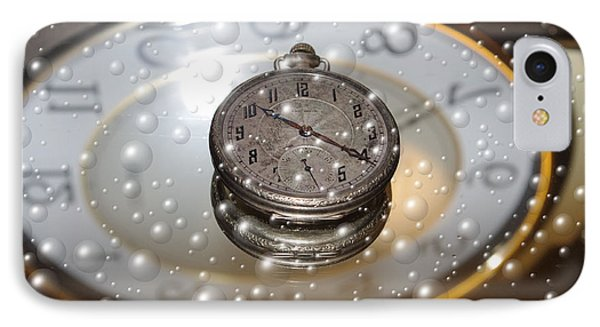 Bubble Clock IPhone Case