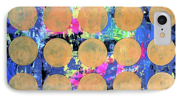 Bubble Wrap Print Poster Huge Colorful Pop Art Abstract Robert R IPhone Case