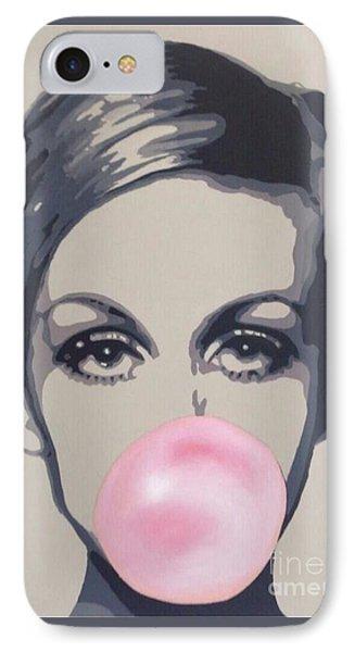 Bubblegum Beauty IPhone Case