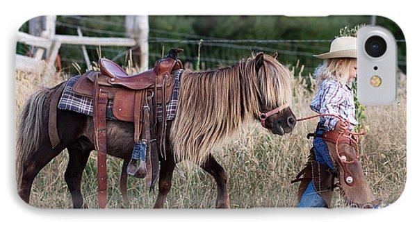 Buckaroo Cowgirl IPhone Case