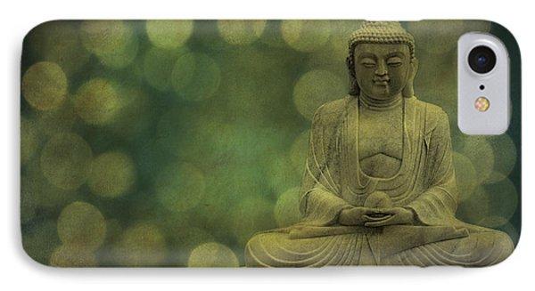 Buddha Light Gold IPhone Case