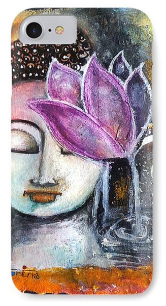 Buddha With Torn Edge Paper Look IPhone Case