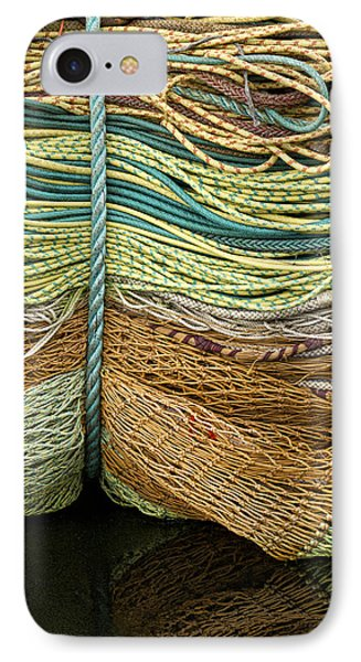 Bundle Of Fishing Nets And Ropes IPhone Case
