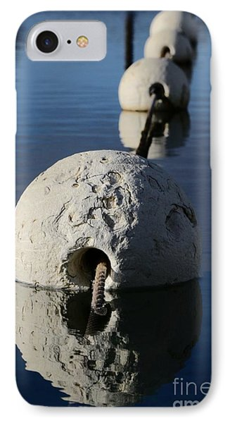IPhone Case featuring the photograph Buoy In Detail by Stephen Mitchell