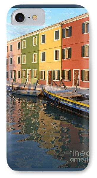 Burano Italy 1 IPhone Case