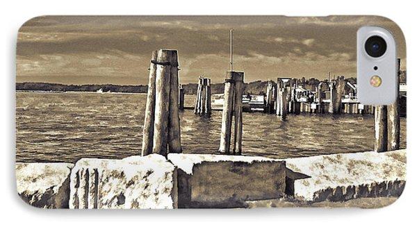 Burlington Pier IPhone Case