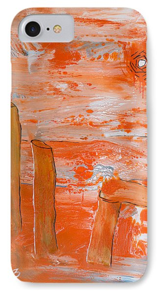 Burning Bay IPhone Case