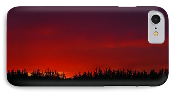 Burning In The Sky IPhone Case