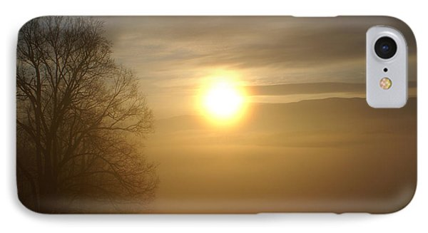 Burning Off The Fog IPhone Case