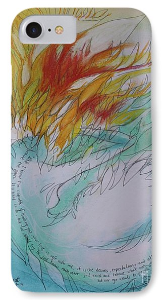 Burning Thoughts IPhone Case