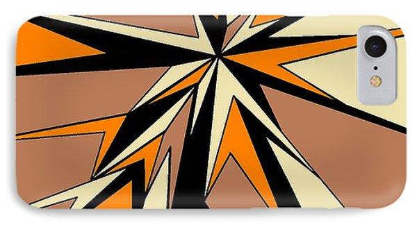 Burst Of Orange 2 IPhone Case