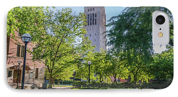 Burton Memorial Tower 1 University Of Michigan  IPhone Case