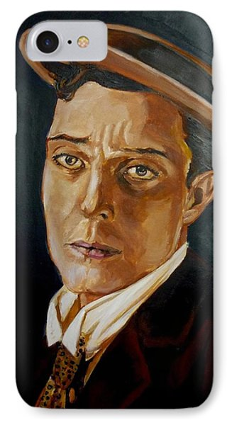 Buster Keaton Tribute IPhone Case
